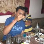 Amit looking at his Shot